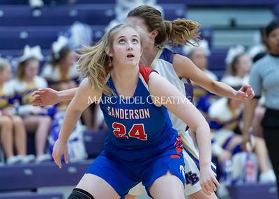Broughton boys and girls varsity basketball vs Sanderson. Senior night. February 11, 2020. D4S_3455