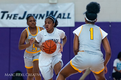 Heritage women's basketball vs St. Fances. John Wall Holiday Invitational championship game. December 29, 2018. 750_0049