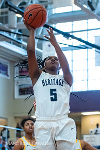 Heritage women's basketball vs St. Fances. John Wall Holiday Invitational championship game. December 29, 2018. 750_0054
