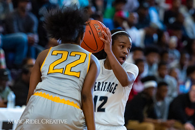Heritage women's basketball vs St. Fances. John Wall Holiday Invitational championship game. December 29, 2018. 750_0129