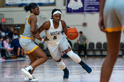 Heritage women's basketball vs St. Fances. John Wall Holiday Invitational championship game. December 29, 2018. 750_0051