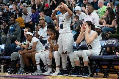 Heritage women's basketball vs St. Fances. John Wall Holiday Invitational championship game. December 29, 2018. MRC_9521