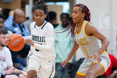 Holiday Invitational girls championship. Southeast Raleigh vs St. Francis. December 28, 2019. D4S_3329