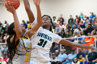 Holiday Invitational girls championship. Southeast Raleigh vs St. Francis. December 28, 2019. D4S_3416