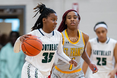 Holiday Invitational girls championship. Southeast Raleigh vs St. Francis. December 28, 2019. D4S_3330