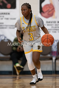 Holiday Invitational girls championship. Southeast Raleigh vs St. Francis. December 28, 2019. MRC_9537