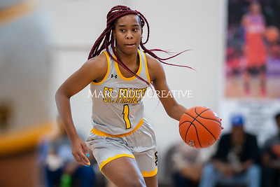 Holiday Invitational girls championship. Southeast Raleigh vs St. Francis. December 28, 2019. D4S_3336