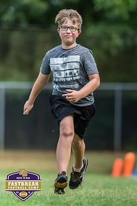 Coach Chris Dawson's Fastbreak Football Camp. June 25, 2018.
