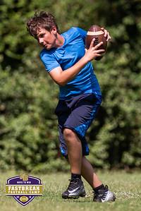 Coach Chris Dawson's Fastbreak Football Camp. June 28, 2018.