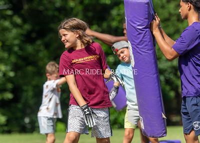 Fast Break football camp. June 29, 2021