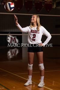 Meredith volleyball senior photoshoot. March 20, 2021