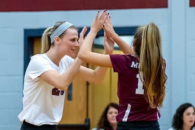 Meredith Volleyball senior night.. October 19, 2019. D4S_5903