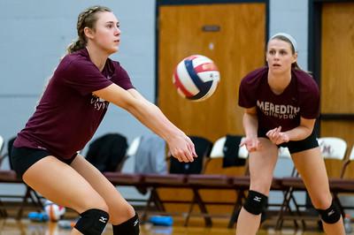 Meredith Volleyball senior night.. October 19, 2019. D4S_5713