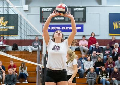 Meredith Volleyball senior night.. October 19, 2019. D4S_5804
