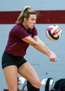 Meredith Volleyball senior night.. October 19, 2019. D4S_5725