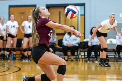 Meredith Volleyball senior night.. October 19, 2019. D4S_5950