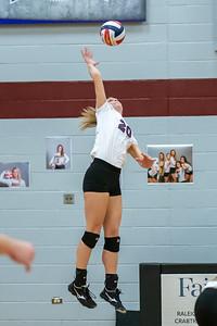 Meredith Volleyball senior night.. October 19, 2019. D4S_5947