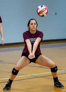 Meredith Volleyball senior night.. October 19, 2019. D4S_5655