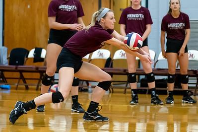 Meredith Volleyball senior night.. October 19, 2019. D4S_5717