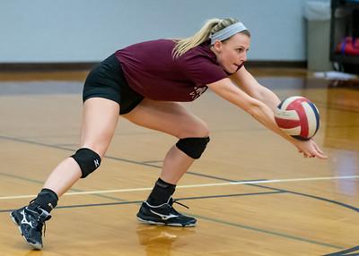 Meredith Volleyball senior night.. October 19, 2019. D4S_5664