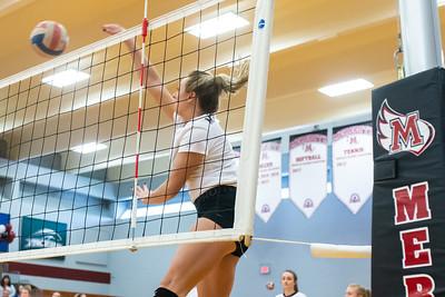 Meredith Volleyball senior night.. October 19, 2019. D4S_5830