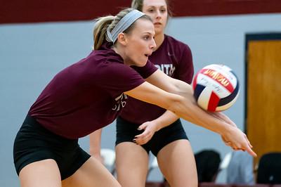 Meredith Volleyball senior night.. October 19, 2019. D4S_5722