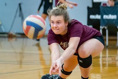 Meredith Volleyball senior night.. October 19, 2019. D4S_5737