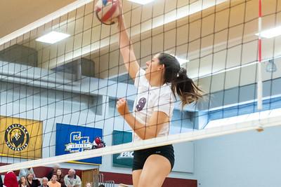 Meredith Volleyball senior night.. October 19, 2019. D4S_5839