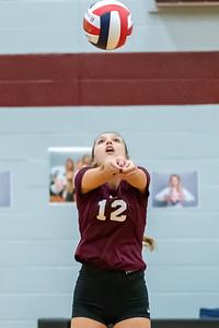 Meredith Volleyball senior night.. October 19, 2019. D4S_5921