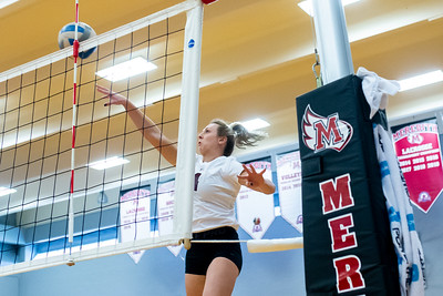 Meredith Volleyball senior night.. October 19, 2019. D4S_5836