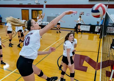 Meredith Volleyball senior night.. October 19, 2019. D4S_5761
