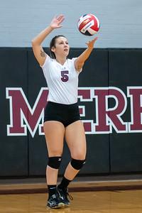 Meredith Volleyball senior night.. October 19, 2019. D4S_5913