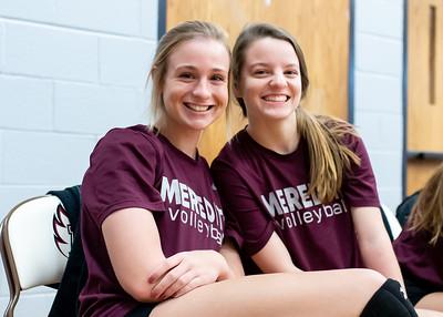 Meredith Volleyball senior night.. October 19, 2019. D4S_5696