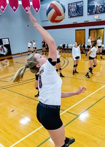 Meredith Volleyball senior night.. October 19, 2019. D4S_5769