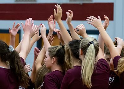 Meredith Volleyball senior night.. October 19, 2019. D4S_5671