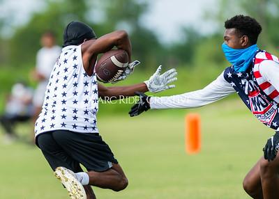 7on7 Football championship. Raleigh, NC. August 22, 2020