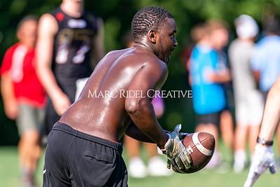 7on7 football. Raleigh, NC. August 11, 2020