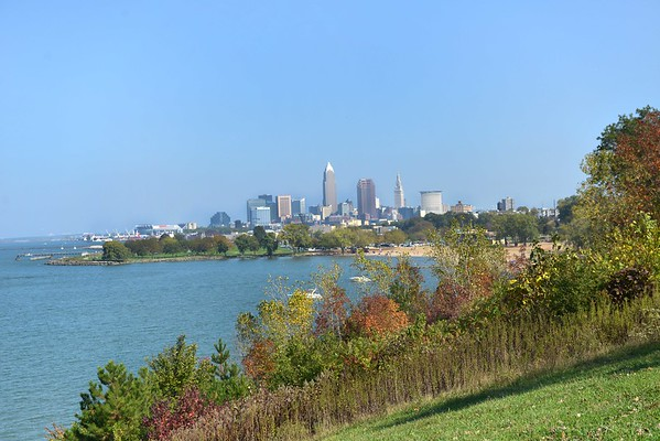 Downtown from Edgewater Park Bluff