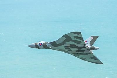 Vulcan XH558 at Beachy Head