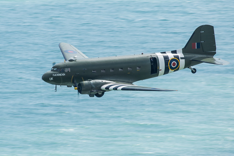 Dakota off Beachy Head