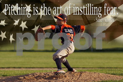 24x36 Pitching is the Art of Instilling Fear