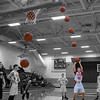 Golinski Free Throw Sequence Cropped 12x18 Color BW No White Border