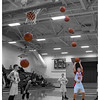 Golinski Free Throw Sequence Cropped 12x18 Color BW