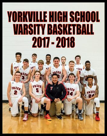 Yorkville Varsity Team 11x14 Vertical
