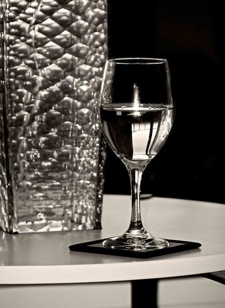 Wine Glass Reflections
