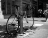Bicycle Parked Along Euclid Avenue