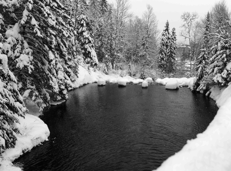 Winter in Jacque Cartier National Park