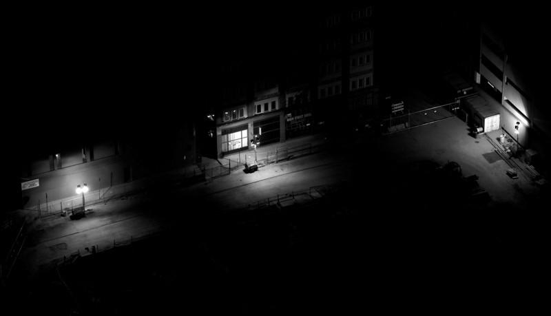 Lighted Street Areas