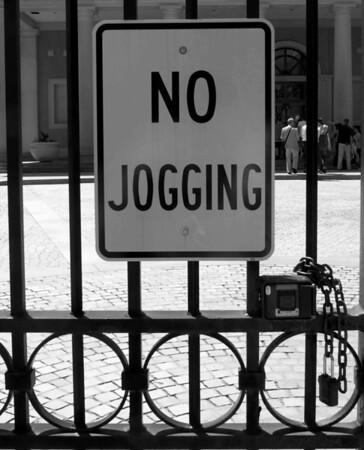 No Jogging