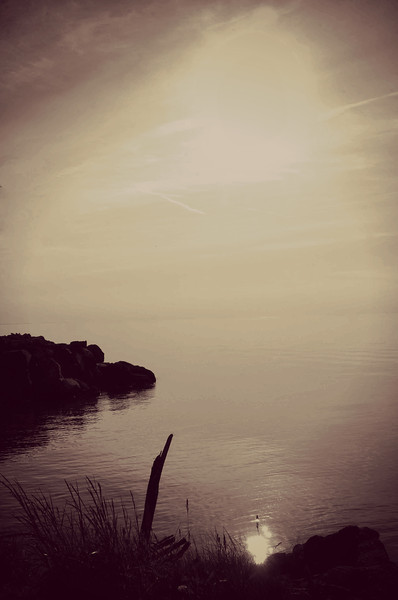 Magical Lake Erie Sunset